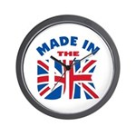 Made In The UK Wall Clock