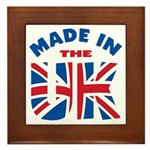 Made In The UK Framed Tile