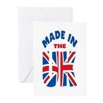 Made In The UK Greeting Cards (Pk of 10)