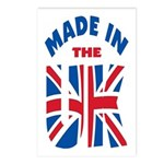 Made In The UK Postcards (Package of 8)