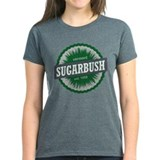 Ski Resort Vermont Dark Green Tee