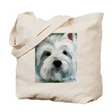 Unique West highland white terrier Tote Bag