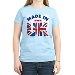 Made In The UK Women's Pink T-Shirt