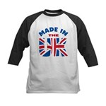 Made In The UK Kids Baseball Jersey