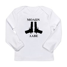 Molon Labe (Come and Take Them) Long Sleeve T-Shir