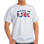 Made In The UK Ash Grey T-Shirt