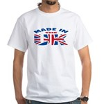 Made In The UK White T-Shirt