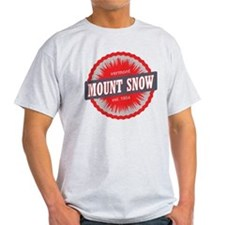 Ski Resort Vermont Red T-Shirt
