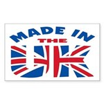 Made In The UK Rectangle Sticker