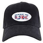 Made In The UK Black Cap
