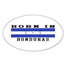 Born In Honduras Decal