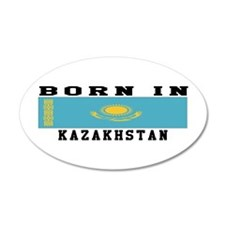Born In Kazakhstan Wall Decal