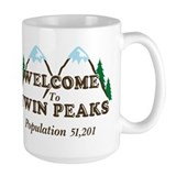 Welcome To Twin Peaks Mug