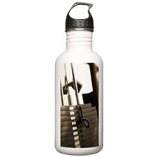 Weights on exercise ma Water Bottle
