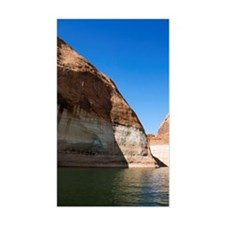 Rocks surrounding Lake Powell Decal
