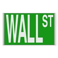 Wall St Rectangle Decal