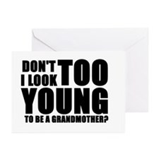 grandmother Greeting Cards (Pack of 6)