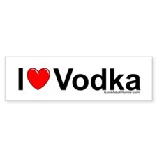 Vodka Bumper Sticker