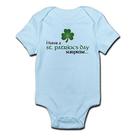 st. patrick's day big sister Body Suit