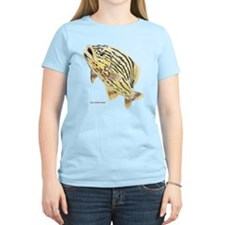 Blue Striped Grunt Fish T-Shirt
