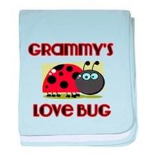 Grammys love bug baby blanket