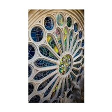 Stained glass window in  Decal