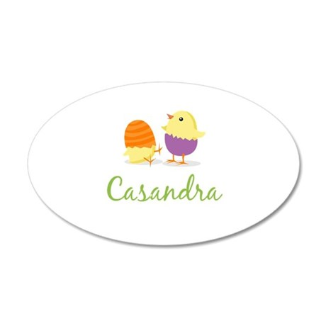 Easter Chick Casandra Wall Decal