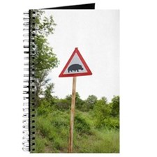 Hippo Crossing Sign Journal