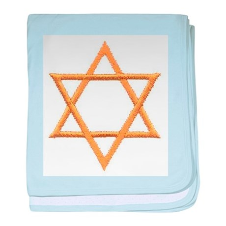 Star of David for Passover baby blanket