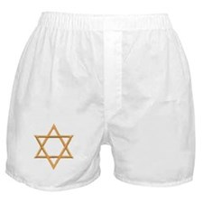Star of David for Passover Boxer Shorts