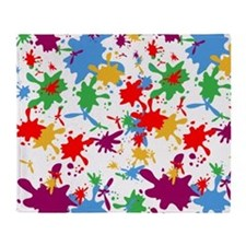 Paint splash/Throw Blanket