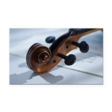 Close up of violin Rectangle Car Magnet