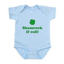 Shamrock & roll Infant Bodysuit