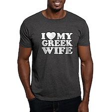 I love My Greek Wife T-Shirt