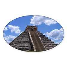 El Castillo temple Decal