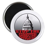 Stop the Sequester 2.25&amp;quot; Magnet (100 pack)