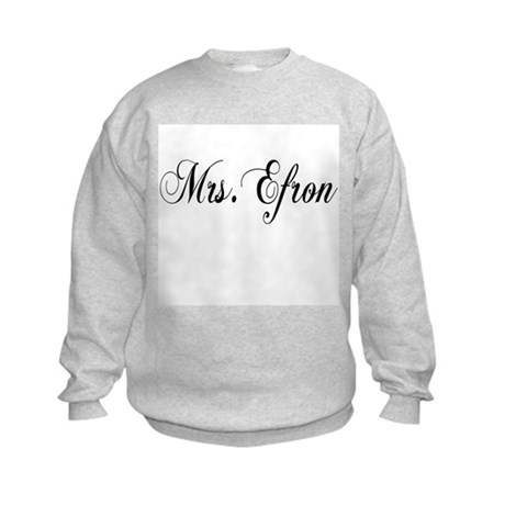 Mrs. Efron Kids Sweatshirt