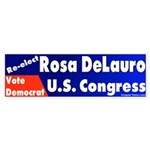 Re-elect Rosa DeLauro Bumper Sticker