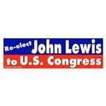 Re-elect John Lewis Bumper Sticker
