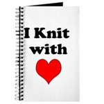 I Knit with Heart Journal