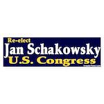 Re-elect Jan Schakowsky Bumper Sticker