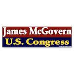 Re-elect James McGovern Bumper Sticker