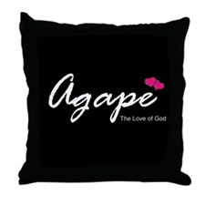 Agape Love Throw Pillow