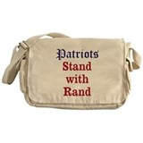 Patriots Stand With Rand Messenger Bag