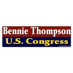 Re-elect Bennie Thompson Bumper Sticker