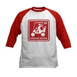 GOLF CART DUDE red sign Baseball Jersey