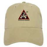 GOLF CART DUDE danger sign Baseball Baseball Cap