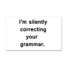 Im silently correcting your grammar. Rectangle Car