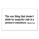 Majority Rule Decal