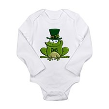 Paddy O'Frog Long Sleeve Infant Bodysuit